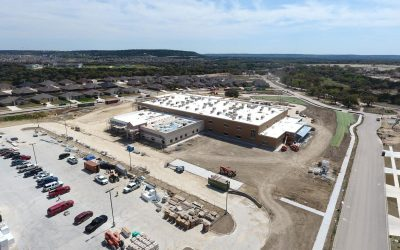 KISD shows 'substantial completion' of new school in drone photos