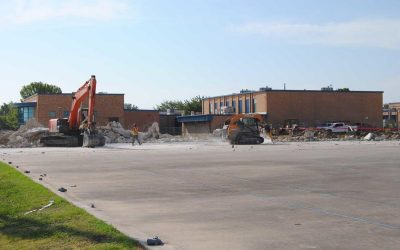 What's coming in the construction at Nolan Middle School?
